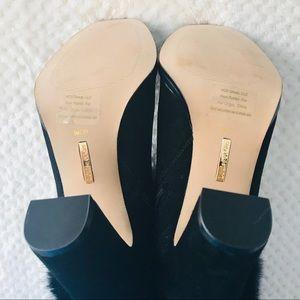 Louise et Cie Shoes - New Louise Et Cie Yuma- Suede & Fur Ankle Boots  9
